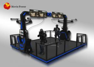China Theme Park 9D Simulator Mobile Power House For Work Big Space VR Headset / Backpack on sale
