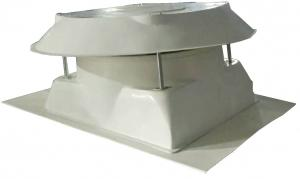 China industrial very strong 20year shell life low noise low price FRP roof exhaust fan on sale