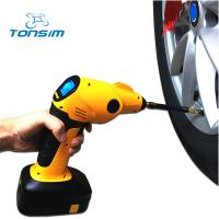 2017 Tonsim new style portable cordless air pump tire inflator