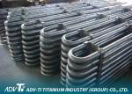 U Shape Titanium Heat Exchanger Tube Seamless / Welded ASTM B338 GR1
