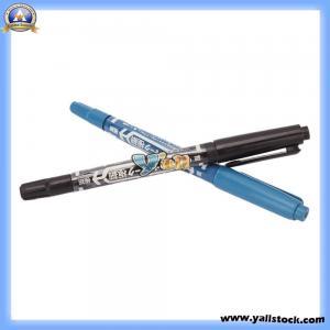 China 2PCS Tattoo Skin Marker Piercing Marking Scribe Dual-Tip Pen -H00987 on sale