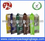 Oxygen Resistance Printed Plastic Food Packaging Bags / Laminated Popcorn Bag