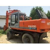 Used Wheel Digger,Hitachi EX200 Used Wheel Excavator,Hydraulic Japan Wheel Excavator