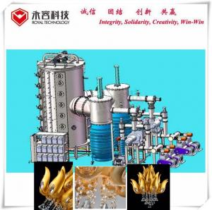 China Arc Vacuum Plating Equipment For Crystal Chandelier / Golden Lotus Chandelier Pendant Light on sale