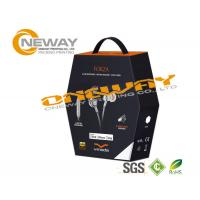 Professional Design Earphone Electronics Packaging Boxes Glossy Or Matte Lamination