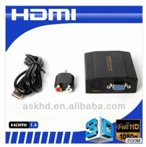 China HDMI CONVERTER HDMI TO VGA+SPDIF/AUDIO on sale