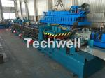 Galvanized / Carbon Steel CZ Shaped Roll Forming Machine For 0-15m/min Forming Speed
