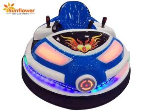 China Sunflower Game Machine UFO Laser Bumper Car Attractive Battery and Laser Shooting Fighting Operated Electric Bumper Cars on sale