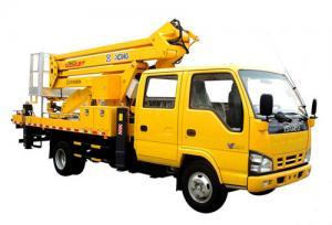 China 200kg Durable Aerial Platform Truck 23.2m Aerial Working Platform on sale