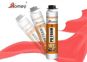 China High Density Expanding Foam Sealant , Fire Retardant Spray Foam For Construction on sale