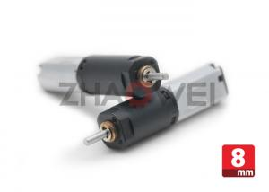China 8mm 4.2V 200g.cm DC Gear Motor Low Rpm ,  Transmission micro planetary gear motor on sale