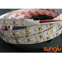 Double Color Flexible LED Strip Lights Tunable 5050 WW / White LED Tape