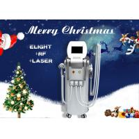 4 In 1 Multifunction RF Elight IPL ND YAG Laser Machine For Hair / Tattoo Removal