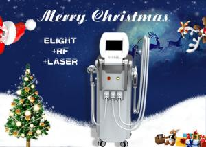 China 4 In 1 Multifunction RF Elight IPL ND YAG Laser Machine For Hair / Tattoo Removal on sale