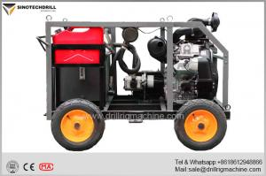 China TD-100 Hydraulic Portable Drilling Rig Max. Single Weight 120 Kg on sale