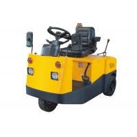 China Battery Powered Aircraft Tow Tractor 3 Tons Traction Weight Good Stability on sale