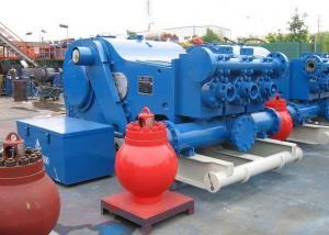 China High Performance Oil Rig Equipment API 7K F Series Triplex Mud Pump Max. Pressure 34.5MPa on sale