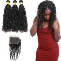 China 8A Real Peruvian Human Hair Extensions Kinky Curly , Peruvian Silky Straight Hair on sale