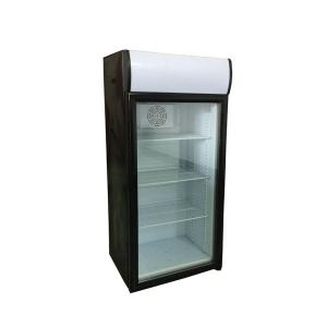 China 130L commercial mini fridge glass door refrigerate display used beverage cooler SC130B on sale