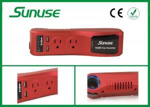 China Mini 150W Green Car Power Inverter DC 12V To AC 110V / 220V With USB Output Port on sale