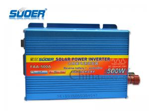 China Suoer High Quality Power Inverter 500W Solar Power Inverter DC/AC Power Inverter with CE&R on sale