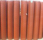 PVC Dipping Expanded Metal Mesh , Anti - Skidding PVC Coated Wire Mesh