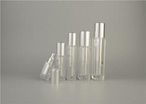 China 200ml Transparent RoundPlastic Lotion BottlesCosmetic Facial SGS LFGB With Pump on sale