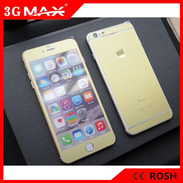 ced1a4eba41 Front   Back Matte colorful Tempered Glass Screen Protector For iPhone 6  plus 5 Images