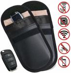 Nice Colour Anti Theft Car Key Pouch Signal Blocking For Keyless Fobs