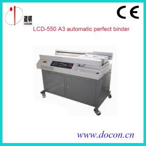 China automatic perfect binding machine LCD-550 on sale