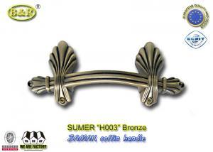 Quality Manija europea del ataúd del metal del zamak del estilo que cabe la manija de la for sale