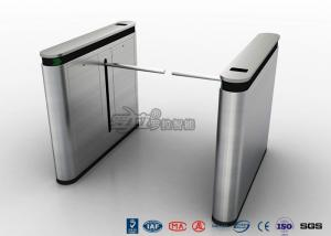 China 304 SS ID / IC Cards Emergency Security Drop Arm Turnstile Access Control on sale
