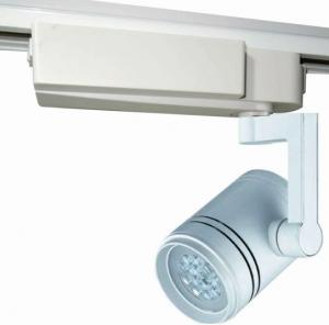 China 20W Aluminum Dimmable LED Track Lighting Fixtures , Shopping Malls Lighting on sale