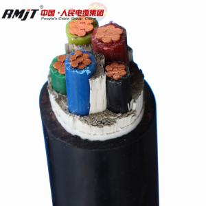 China RMJT 8.7/15kV XLPE Insulated PVC jacket with armouring copper conductor power cable on sale