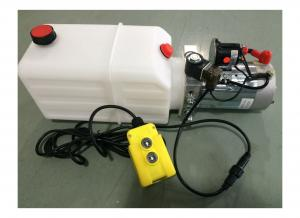 China DC 24V 1600W Motor Horizontal Single Acting  Mini Hydraulic Power Packs for Dump Trailer on sale