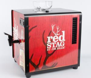 Quality Metal Case Shot Chiller Dispenser Compressor Cooling System 34.5 X 24.5 X 30cm for sale