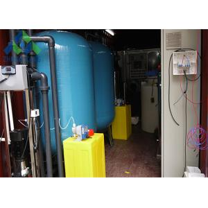 China Containerized Mobile Portable Water Desalination Unit Construction Site Usage on sale
