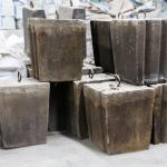 Sic  Precast Concrete Blocks For Large Medium - Sized Blast Furnace Tapping Ditch