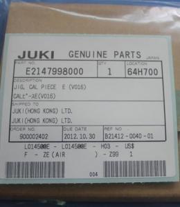 China JUKI JIP.CAL PLECE E (V016) E2147998000 on sale