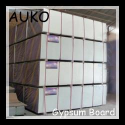China gypsum board/plasterboard for partition wall and ceiling suspension on sale