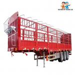 50 Tons Livestock 500mm Gooseneck Storage Semi Trailer