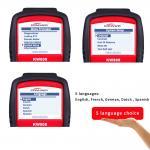 Portable Automotive Code Readers Scan Tools  Displays Live O2 Sensor Test Data