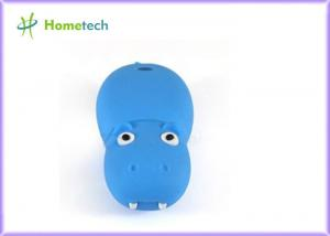 China 3D Animal Blue Cartoon USB Flash Drive 1GB for Student , Customize on sale