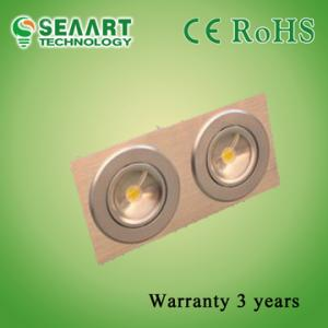 China Aluminum Alloy 6063 Two Heads 14W  LED Ceiling Lamp For Commercial Lighting on sale