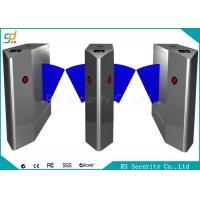 Remote Control Flap Barrier Gate RFID Electronic Pedestrian Turnstiles