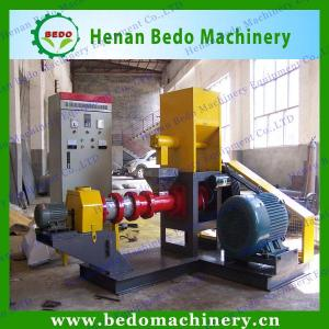 China floating fish feed pellet machine/ floating fish feed extruder machine/floating fish feed making machine on sale