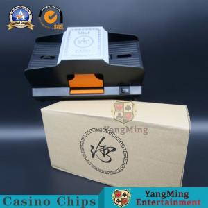 China Casino Automatic Playing Card Shuffler Eight Decks For Baccarat Poke Table Games on sale
