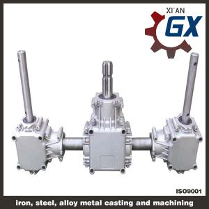 China Fertilizer Spreader aluminum gearbox,reducer aluminum gearbox on sale