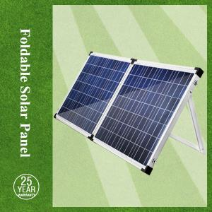 China Foldable 120w solar panels for home use and inverter on sale