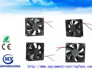 China Waterproof PWM USB 80mm Brushless DC Fan Laptop Cooling Fans With Lead Wire on sale
